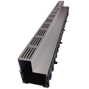 ACO_Hexa_Designline_Afvoergoot_aluminium_100cm