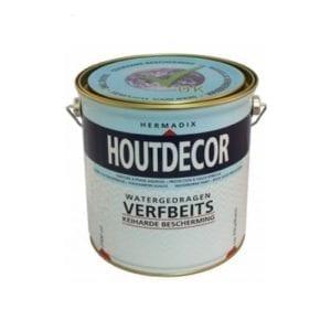Hermadix houtdecor verfbeits transparant 2,5L