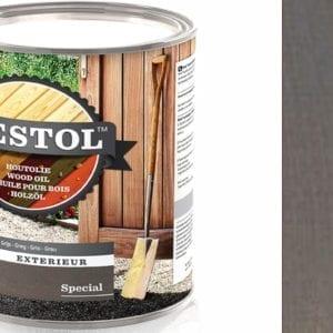 Restol houtolie zijdeglans grijs