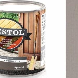 Restol houtolie zijdeglans licht grijns