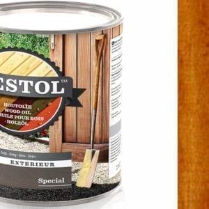 Restol houtolie zijdeglans bruin naturel