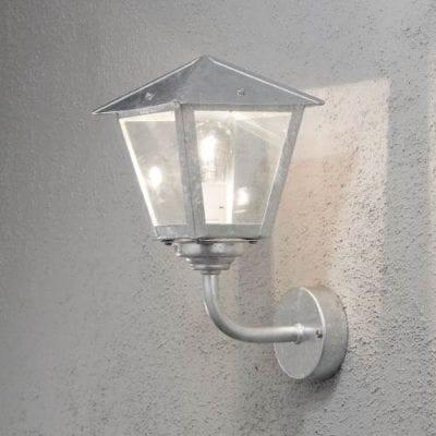 konstsmide wandlamp benu 439 verzinkt