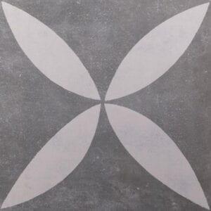 GeoCeramica_Stavelot_Decoro_Big_Flower_Terrastegel